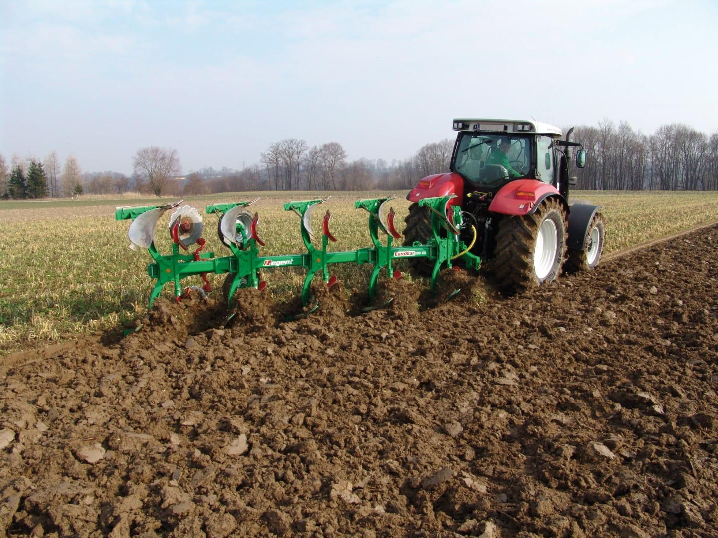 Reversible Plough Eurostar