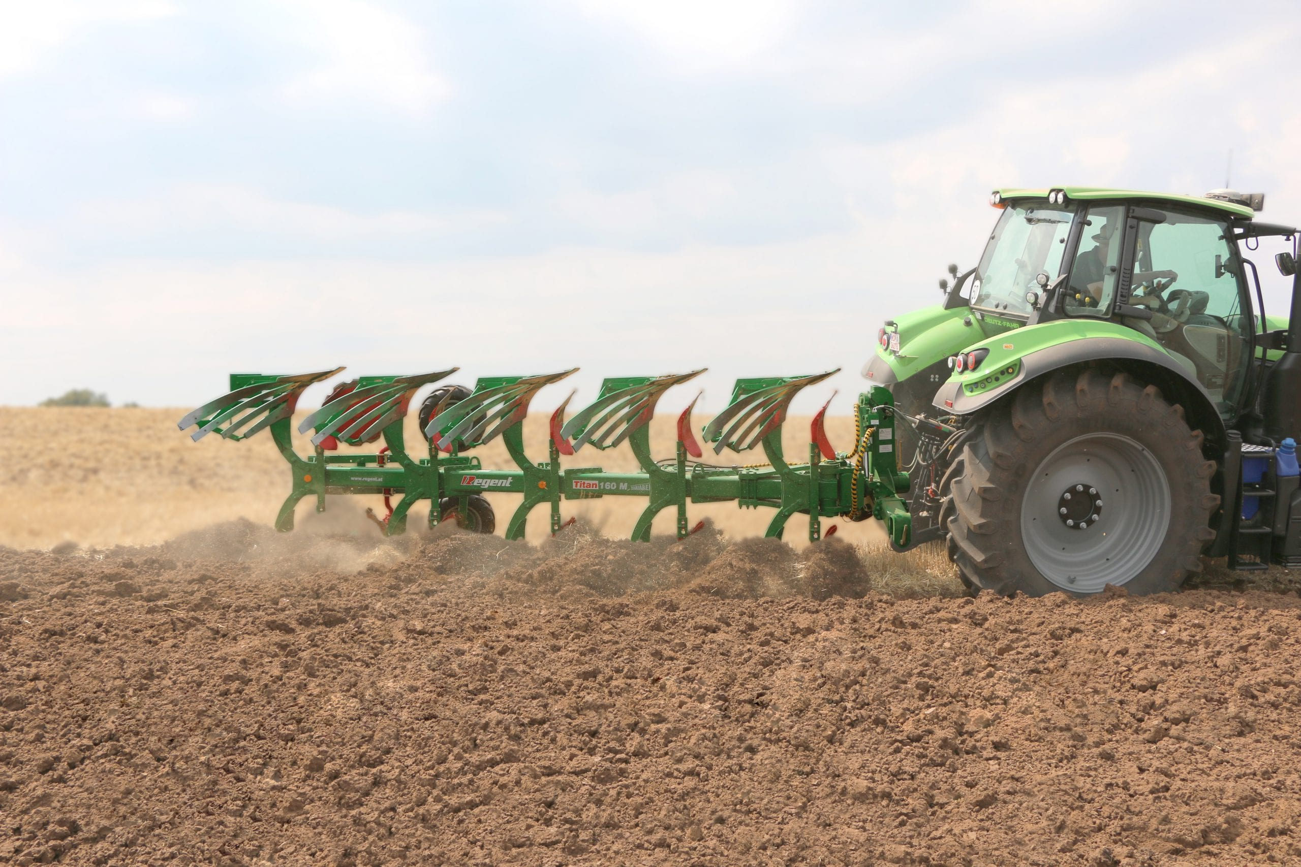 Reversible Plough Titan