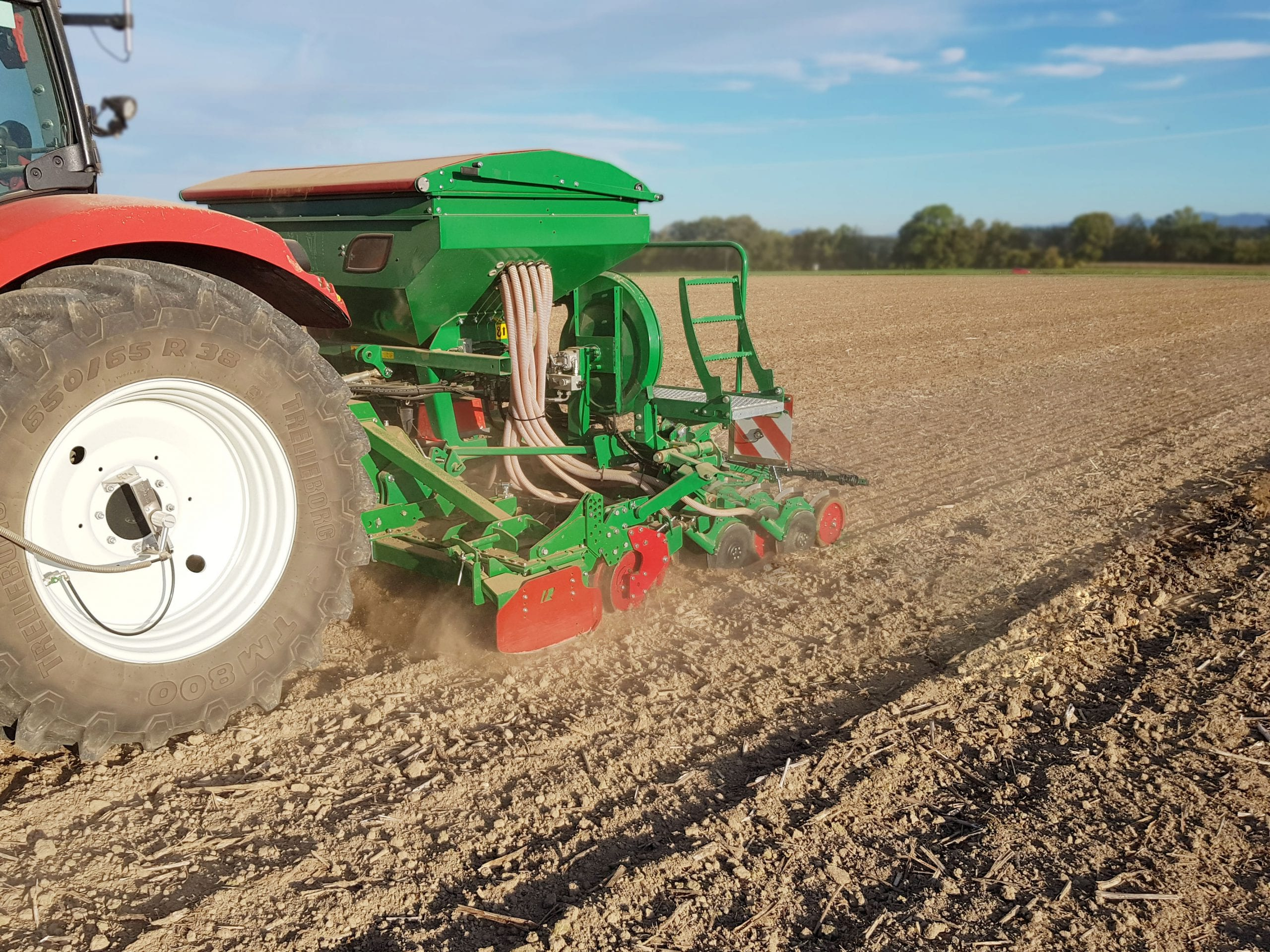 Set-Up Seed Drill Ventra