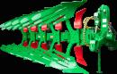 Ein freigestelltes Bild des 5-scharigen Pfluges der Type Titan 160 M
